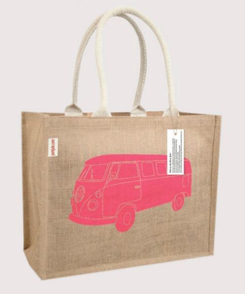 Pure Jute Printed bags